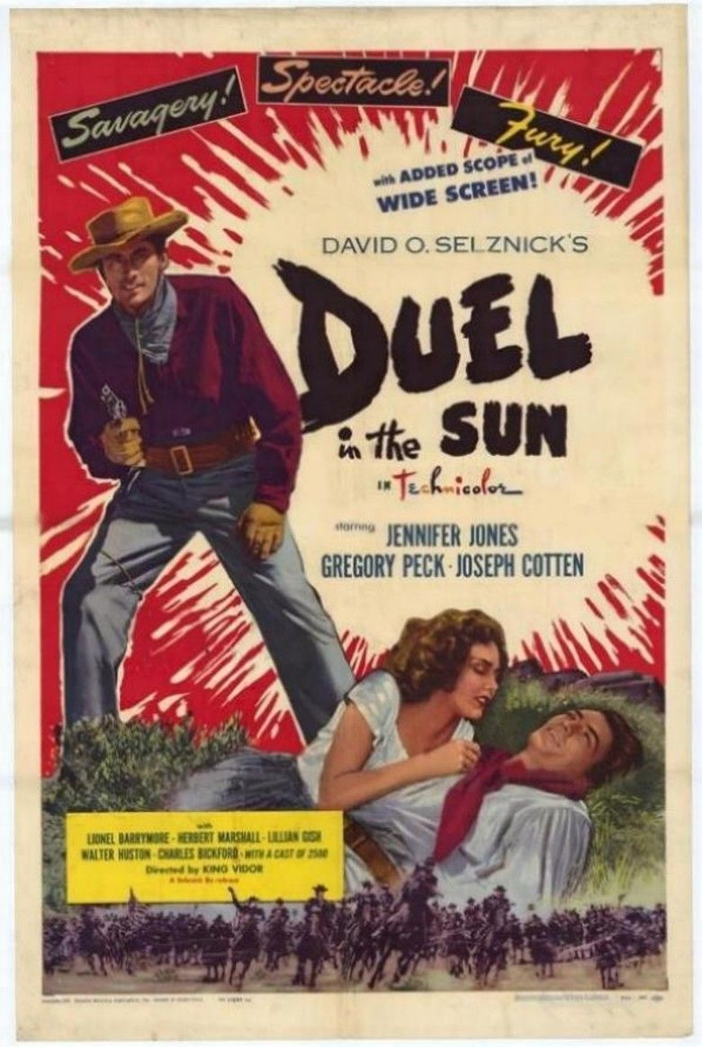 Duel in the Sun (film) movie poster