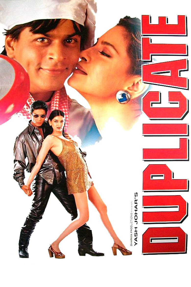 Duplicate (1998 film) movie poster