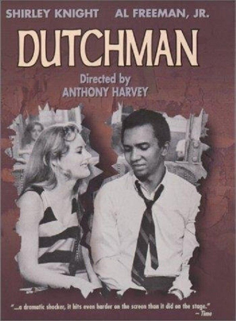 Dutchman (film) movie poster