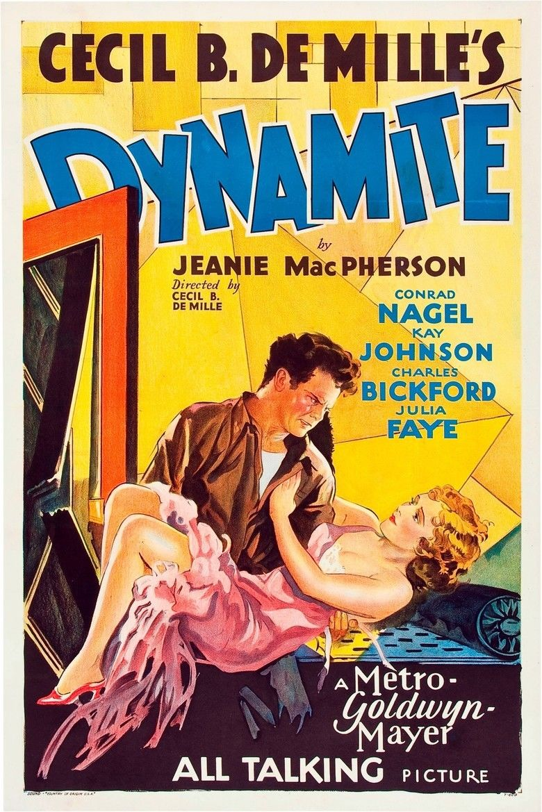 Dynamite (film) movie poster