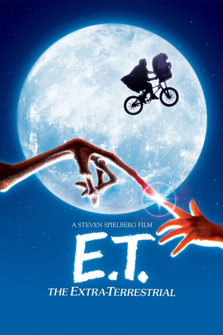ET the Extra Terrestrial movie poster