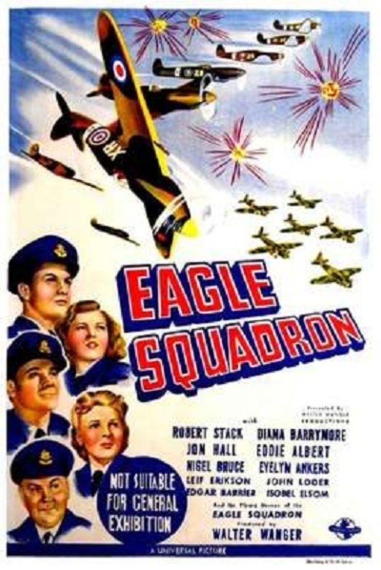 Eagle Squadron (film) movie poster