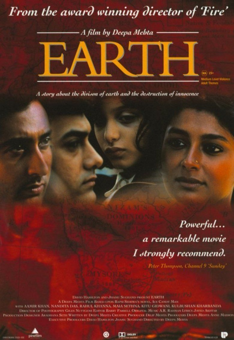 Earth (1998 film) movie poster