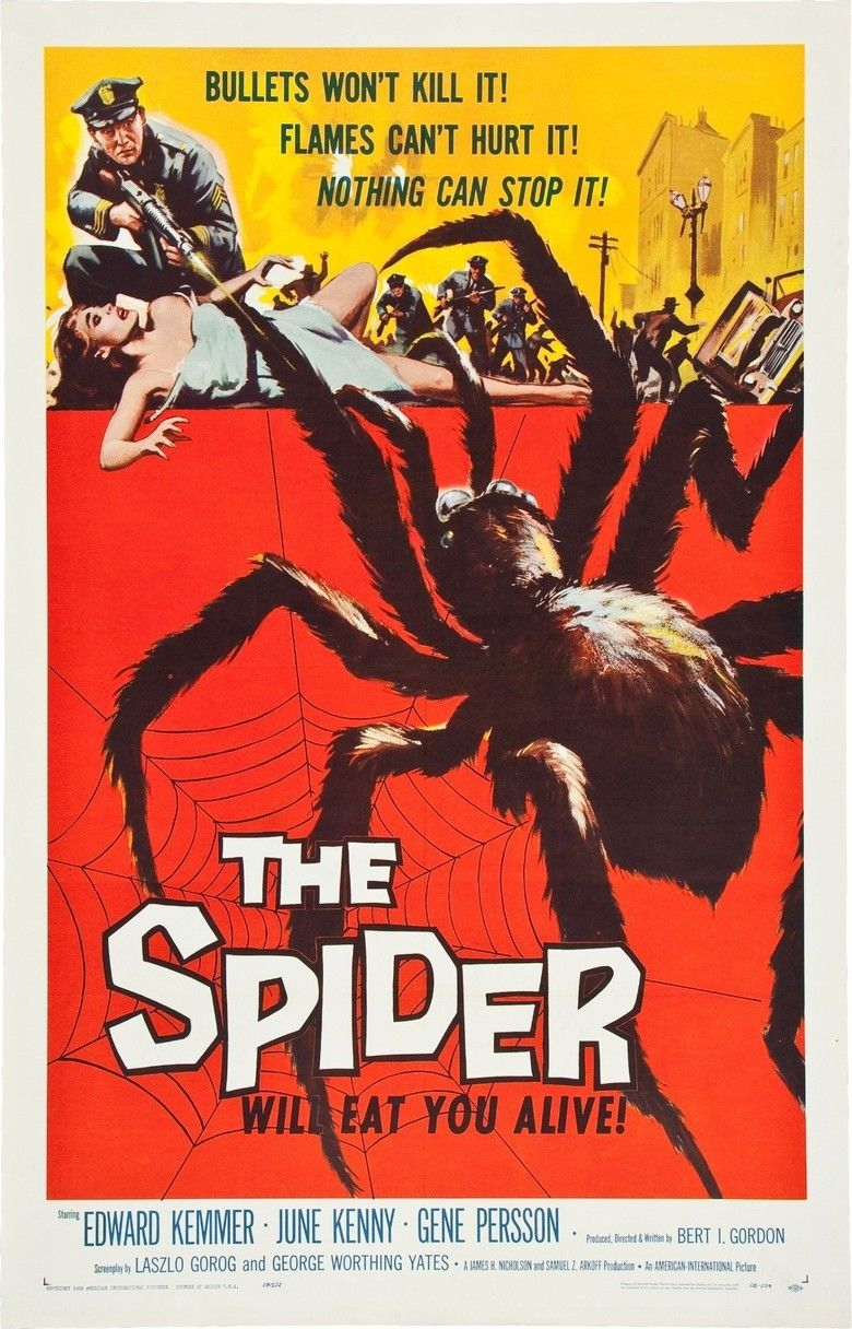 Earth vs the Spider movie poster
