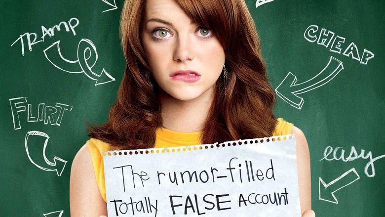 Easy A movie scenes