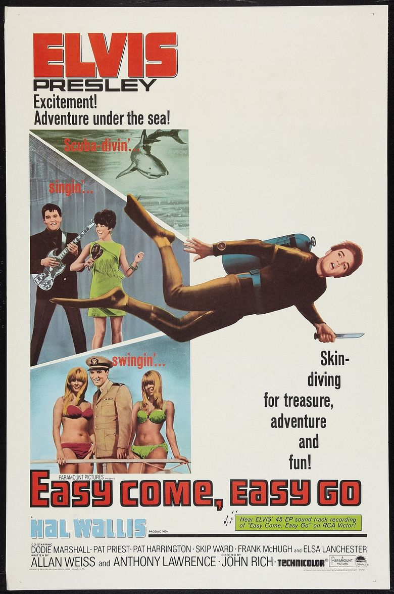 Easy Come, Easy Go (film) movie poster
