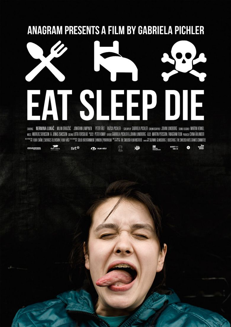 Eat Sleep Die movie poster