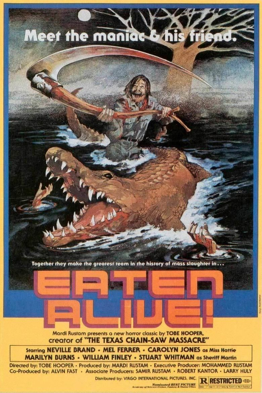 Eaten Alive movie poster