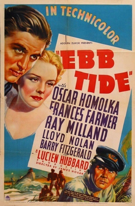 Ebb Tide (1937 film) movie poster