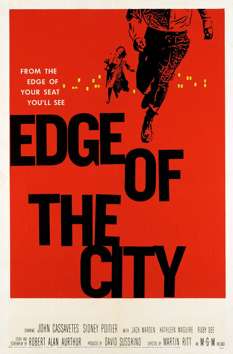 Edge of the City movie poster
