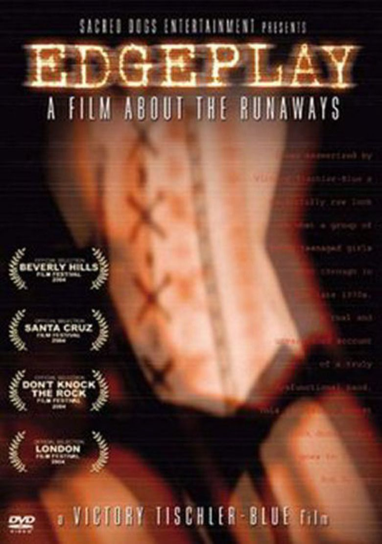 Edgeplay: A Film About the Runaways movie poster