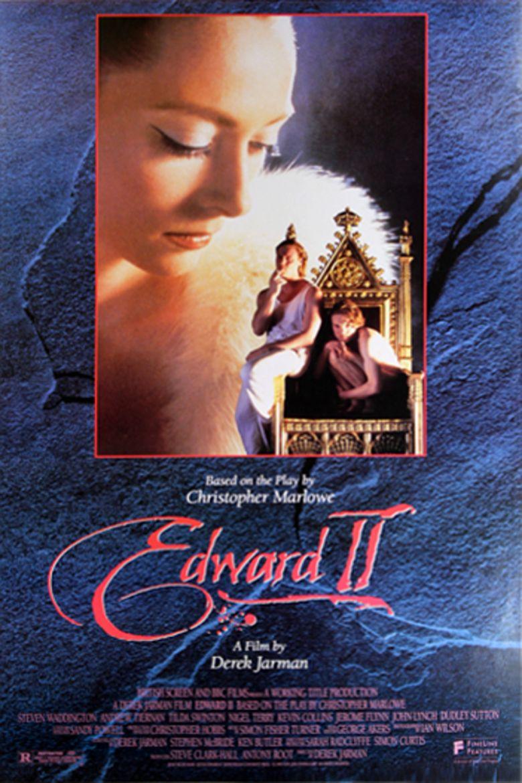 Edward II (film) movie poster