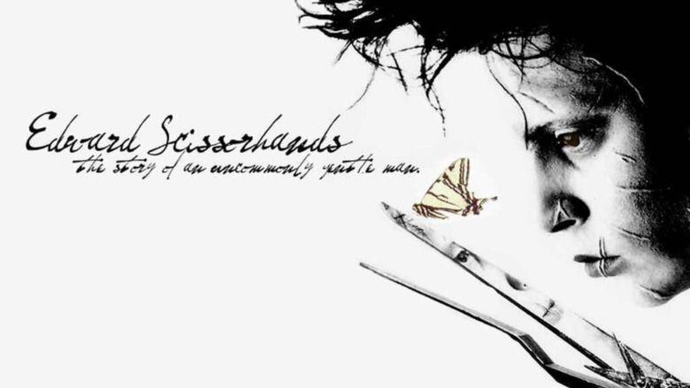 Edward Scissorhands movie scenes