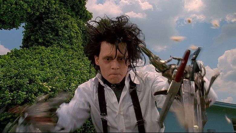 edward scissorhands plot