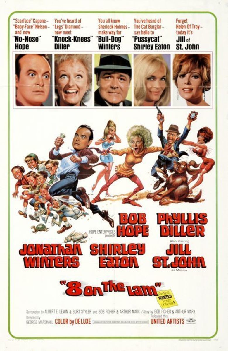 Eight on the Lam movie poster
