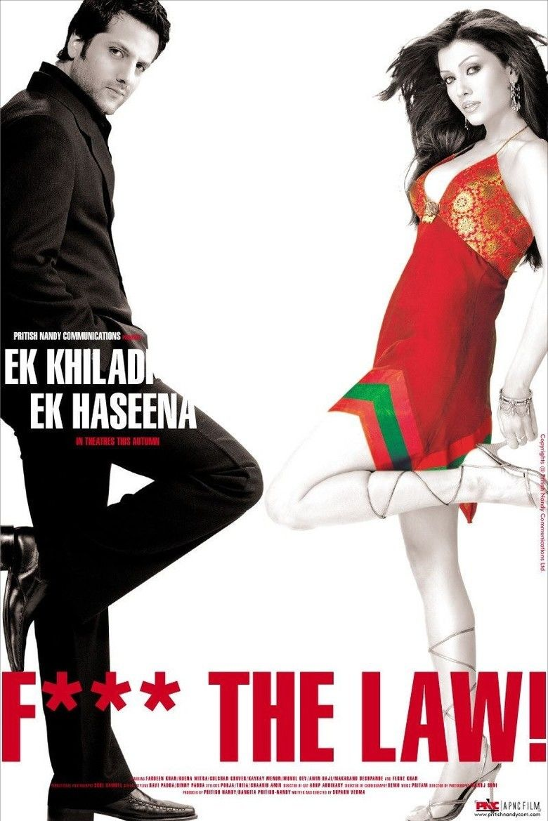 Ek Khiladi Ek Haseena (film) movie poster
