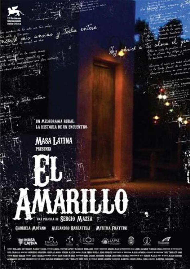 El Amarillo movie poster