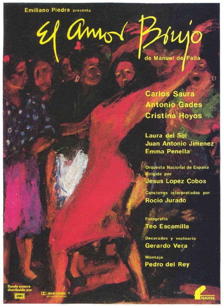 El Amor brujo (1986 film) movie poster