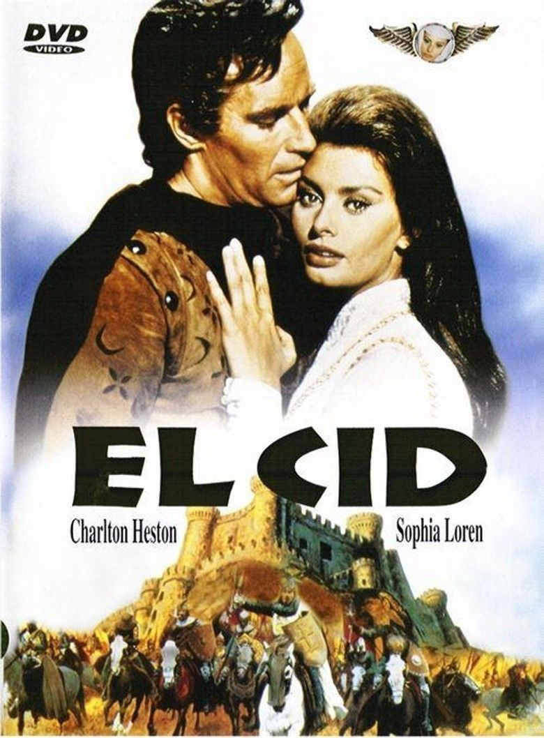 El Cid (film) movie poster