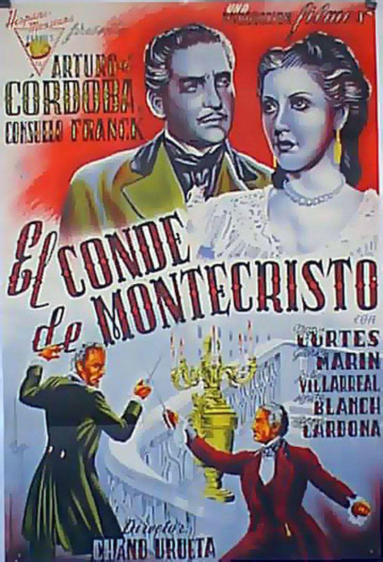El Conde de Montecristo (film) movie poster