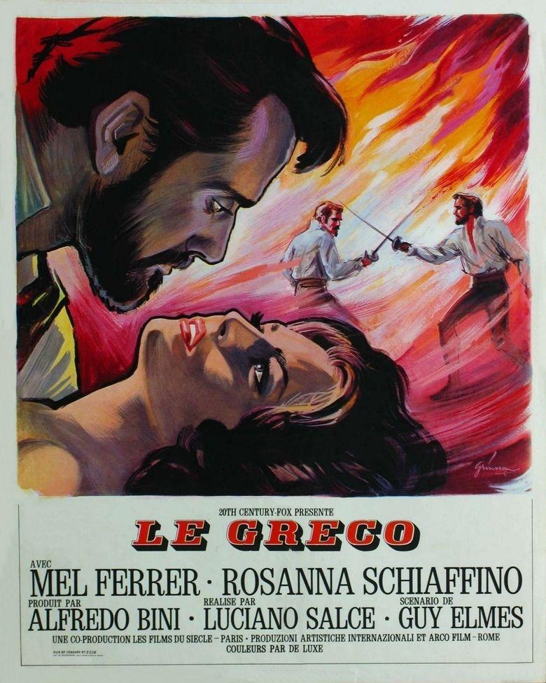 El Greco (1966 film) movie poster