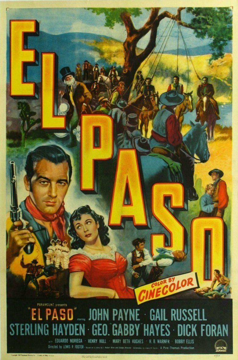 El Paso (film) movie poster