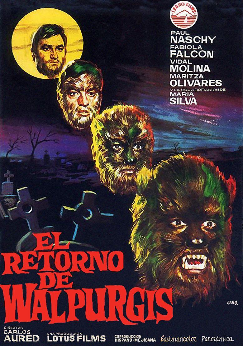 El Retorno de Walpurgis movie poster