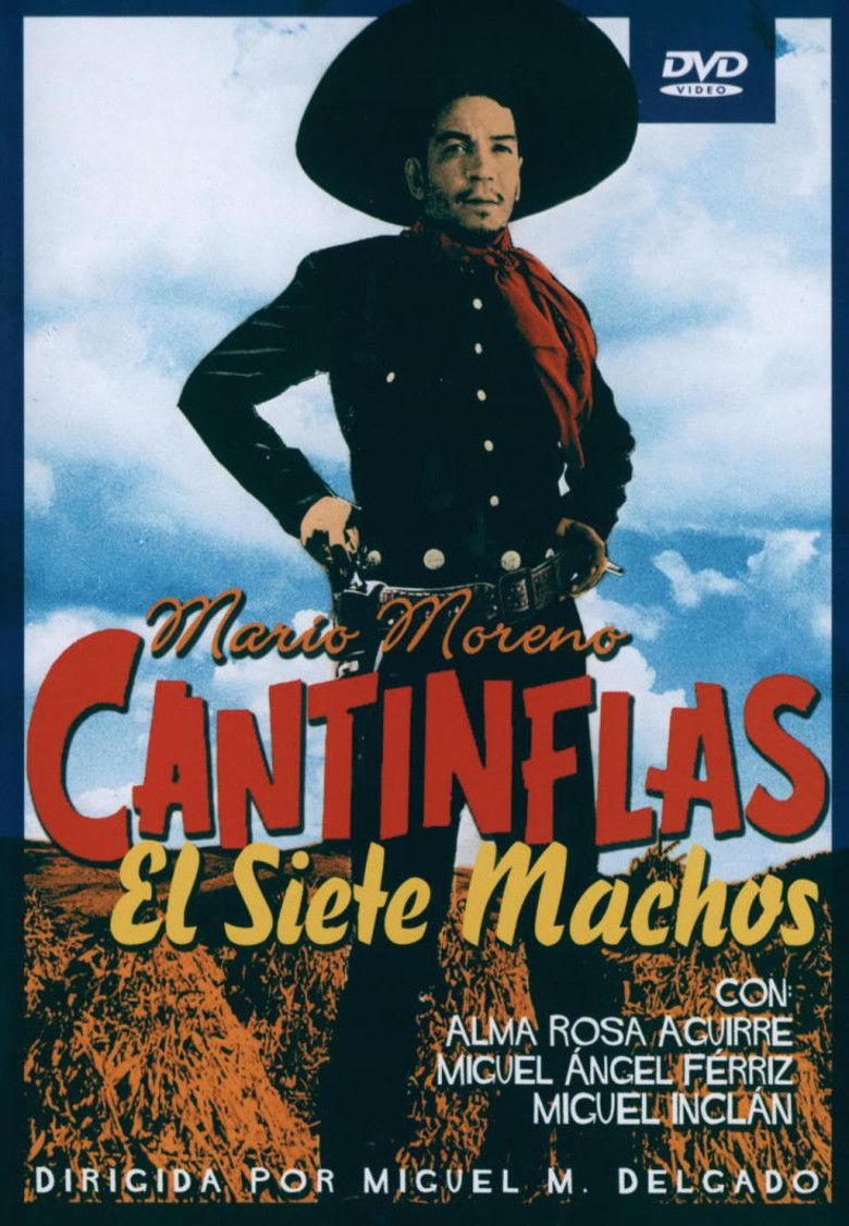 El Siete Machos movie poster