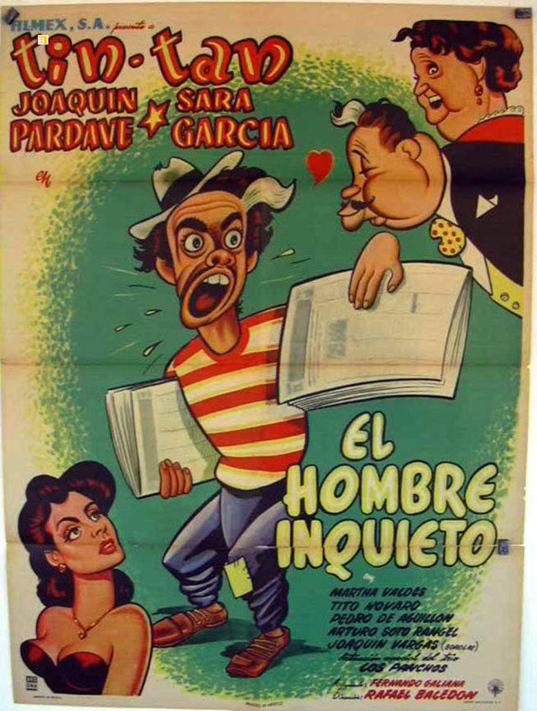 El hombre inquieto movie poster