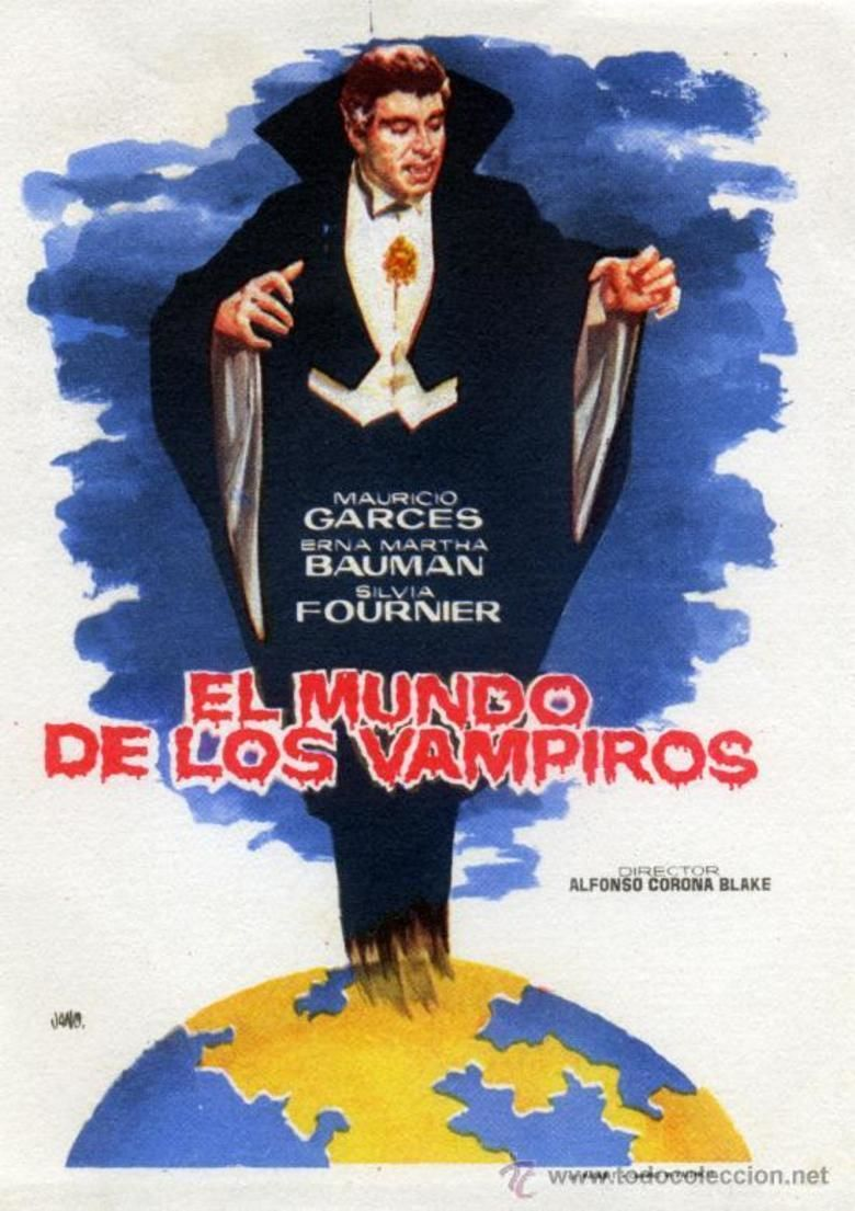 El mundo de los vampiros movie poster