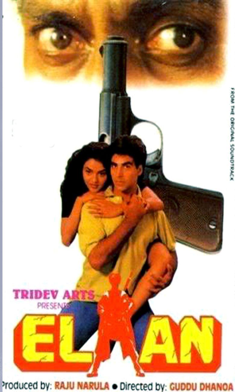 Elaan (1994 film) movie poster