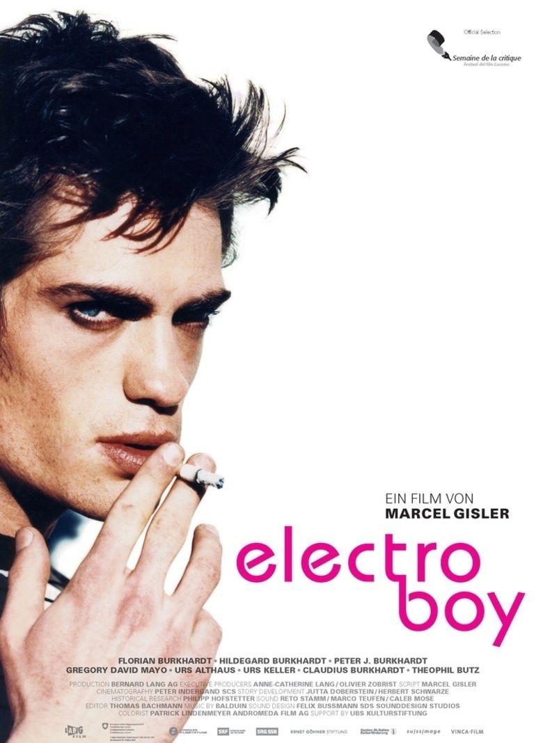 Electroboy (film) movie poster