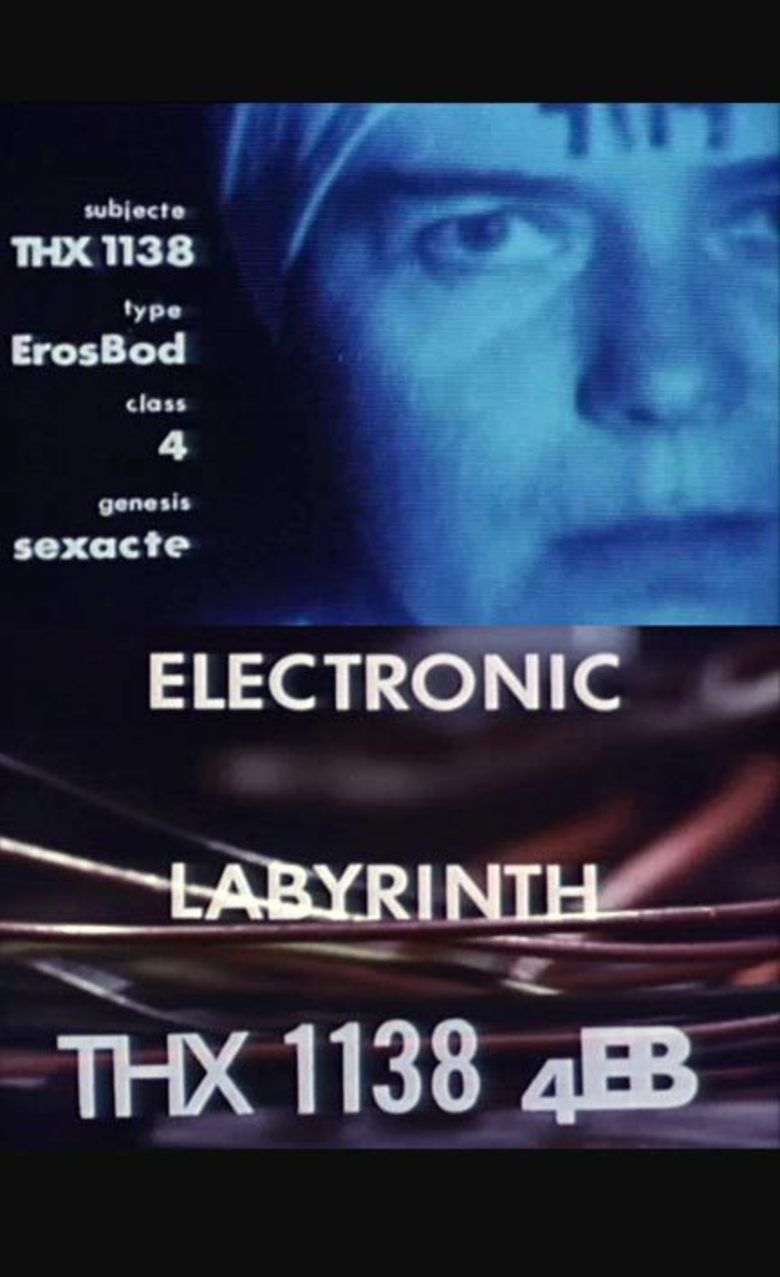 Electronic Labyrinth: THX 1138 4EB movie poster