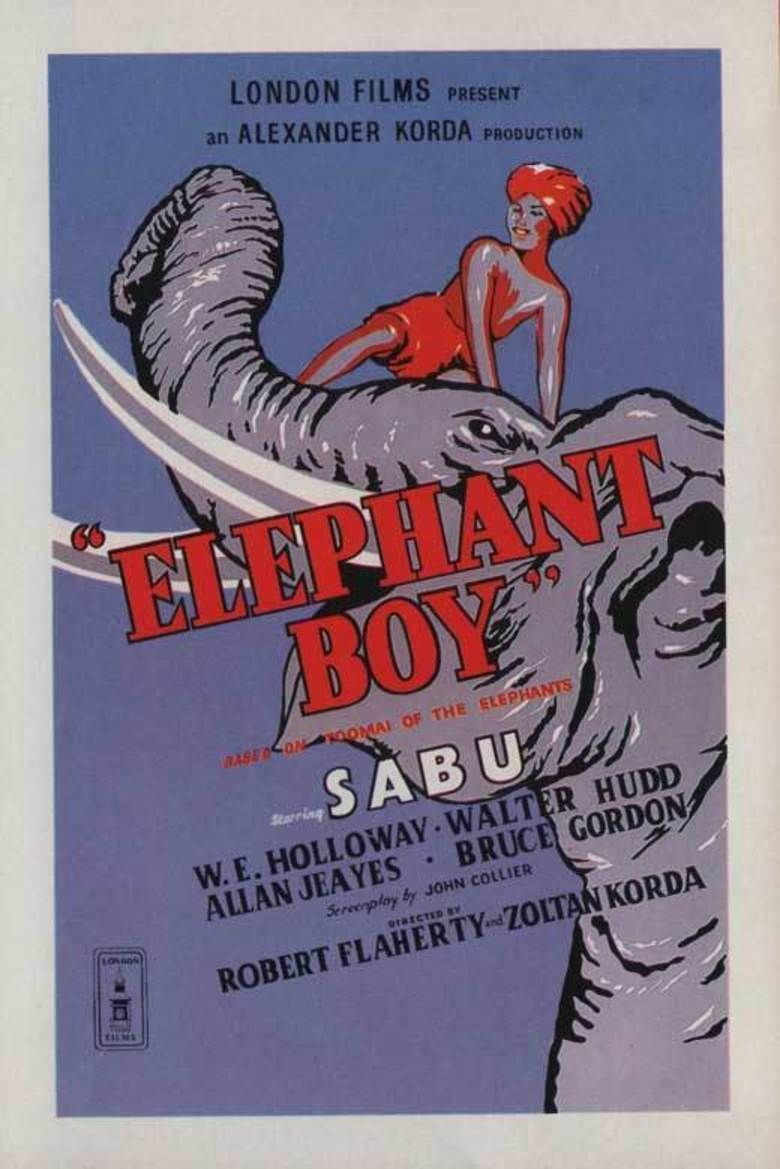 Elephant Boy (film) movie poster