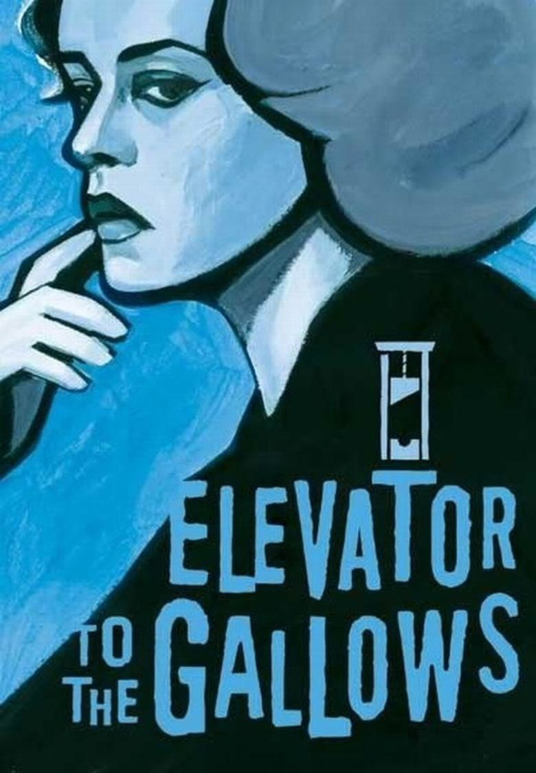 Elevator to the Gallows movie poster