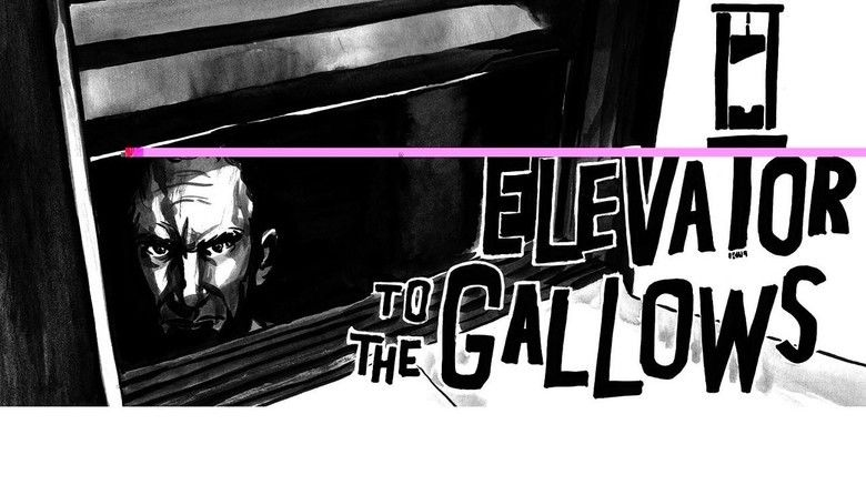 Elevator to the Gallows movie scenes