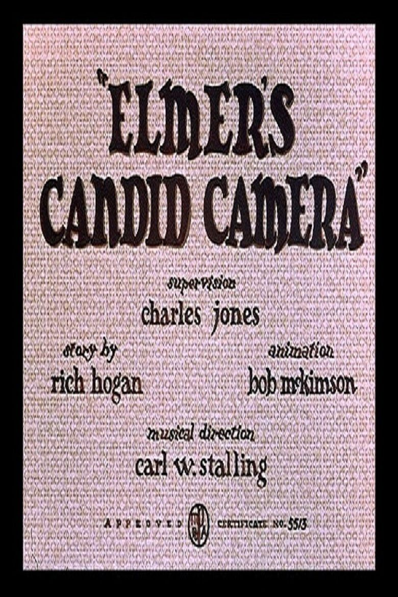 Elmers Candid Camera movie poster
