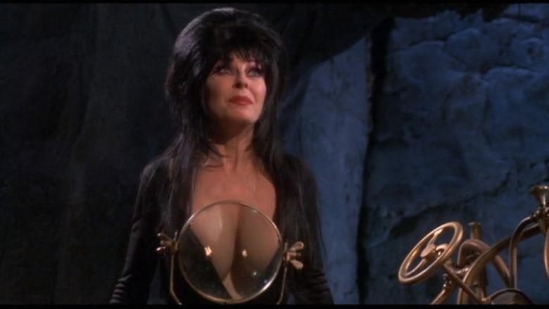 Elviras Haunted Hills movie scenes