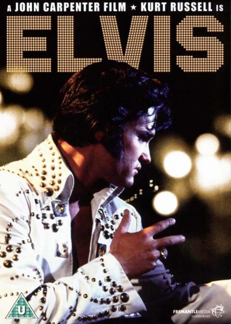 Elvis (1979 film) movie poster