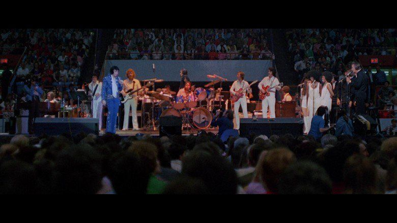 Elvis on Tour movie scenes