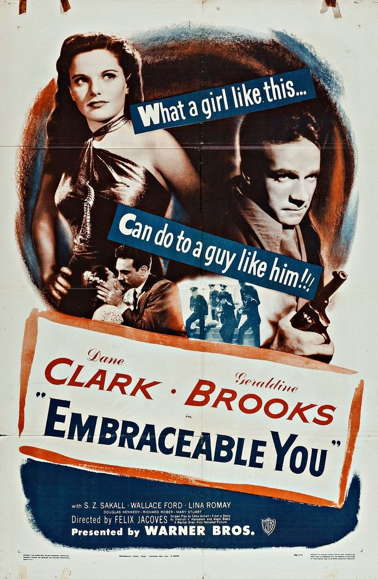 Embraceable You (film) movie poster