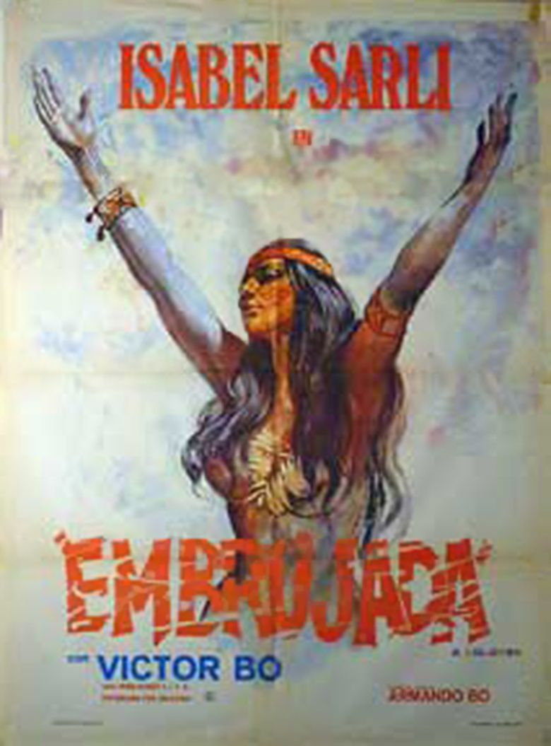 Embrujada movie poster