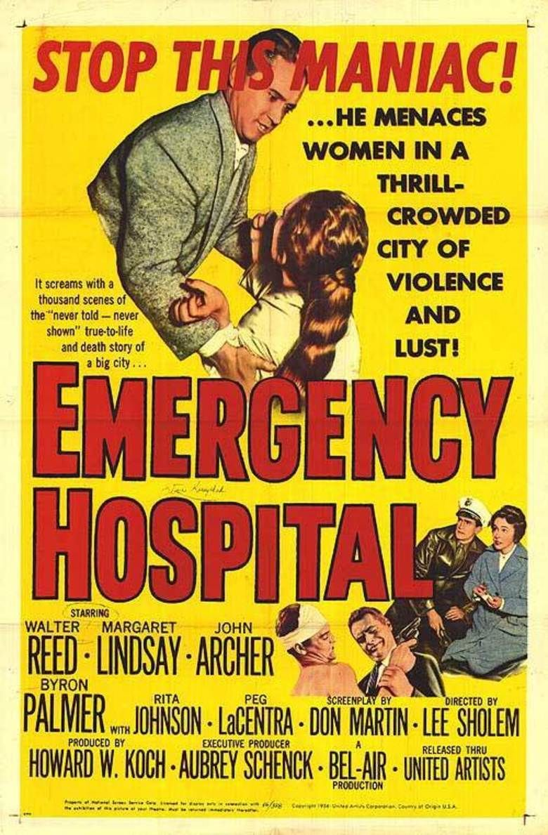 Emergency Hospital (film) movie poster