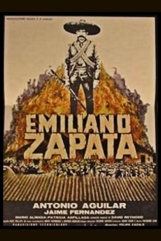 Emiliano Zapata (film) movie poster
