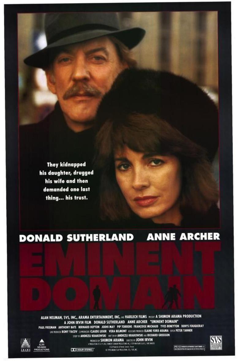 Eminent Domain (film) movie poster
