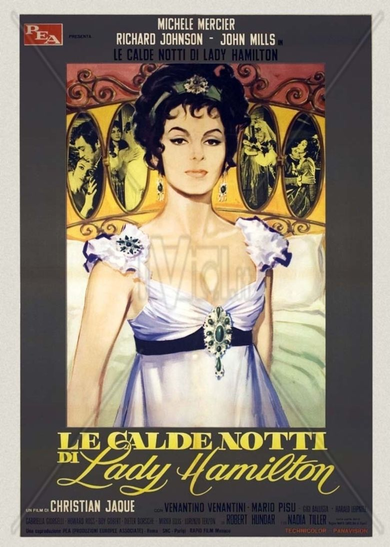 Emma Hamilton (film) movie poster