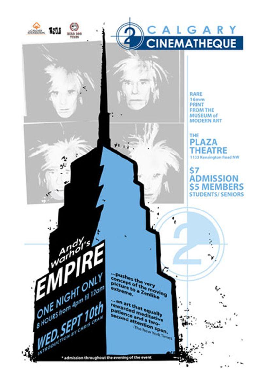Empire (1964 film) movie poster