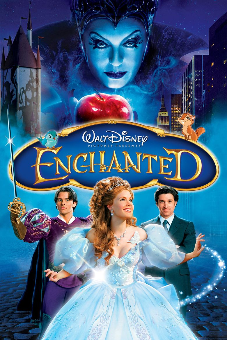 Enchanted (film) movie poster