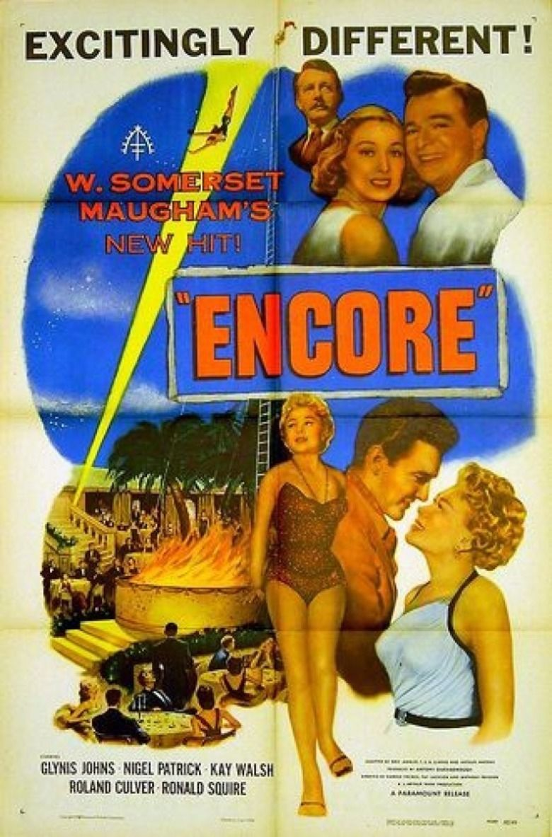 Encore (1951 film) movie poster