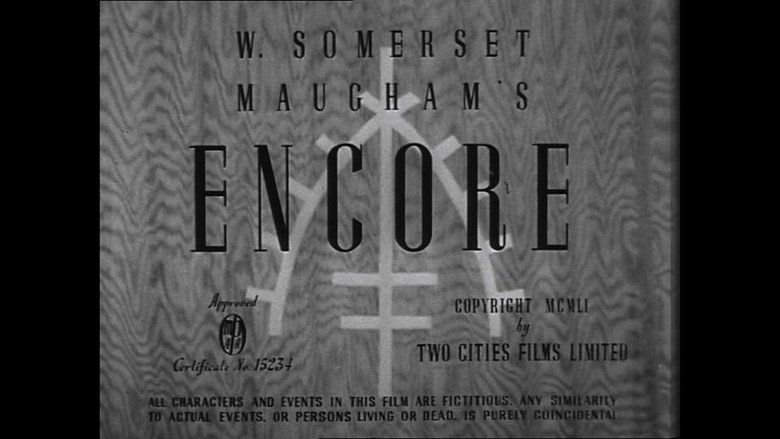 Encore (1951 film) movie scenes
